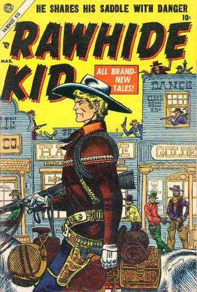 Rawhide Kid #1 Comic Books - Covers, Scans, Photos  in Rawhide Kid Comic Books - Covers, Scans, Gallery