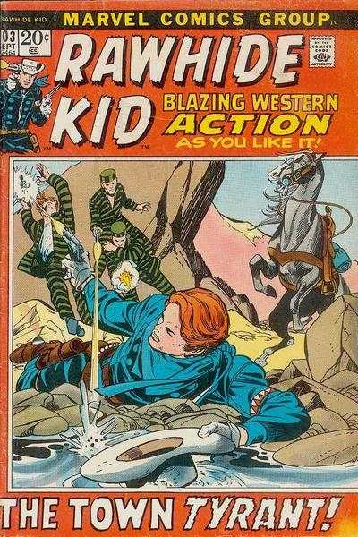 Rawhide Kid #103 comic books - cover scans photos Rawhide Kid #103 comic books - covers, picture gallery