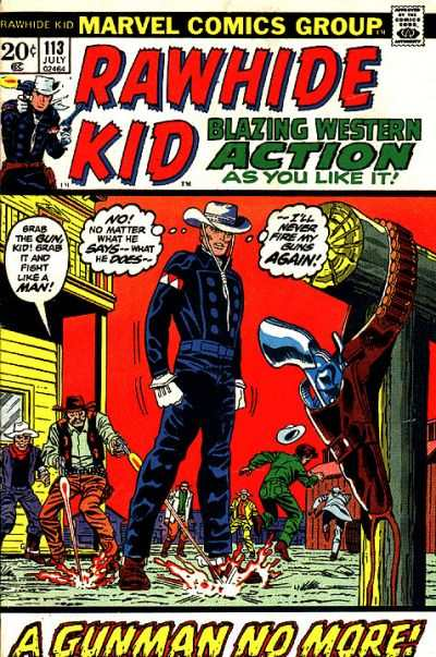 Rawhide Kid #113 comic books - cover scans photos Rawhide Kid #113 comic books - covers, picture gallery