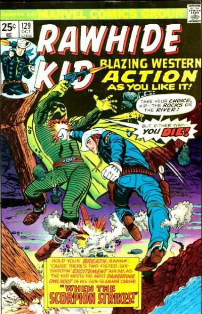 Rawhide Kid #129 comic books for sale