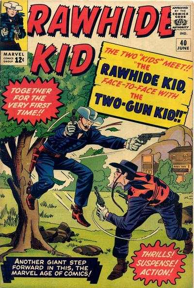 Rawhide Kid #40 comic books - cover scans photos Rawhide Kid #40 comic books - covers, picture gallery