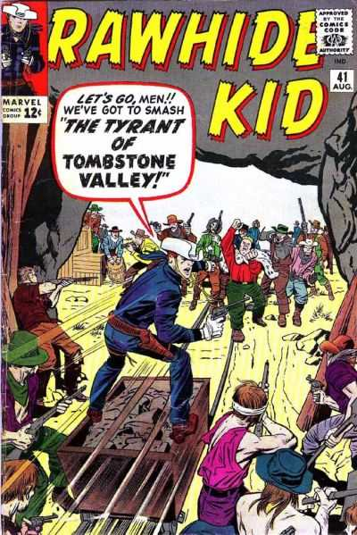 Rawhide Kid #41 comic books - cover scans photos Rawhide Kid #41 comic books - covers, picture gallery