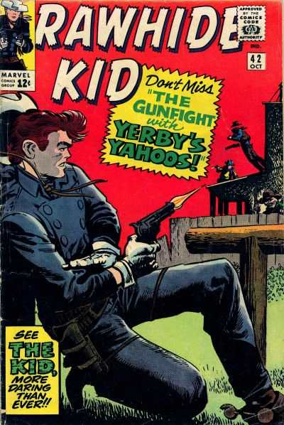 Rawhide Kid #42 Comic Books - Covers, Scans, Photos  in Rawhide Kid Comic Books - Covers, Scans, Gallery
