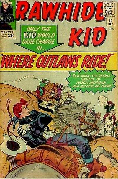 Rawhide Kid #43 comic books - cover scans photos Rawhide Kid #43 comic books - covers, picture gallery