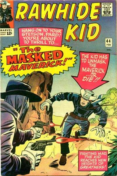 Rawhide Kid #44 comic books - cover scans photos Rawhide Kid #44 comic books - covers, picture gallery