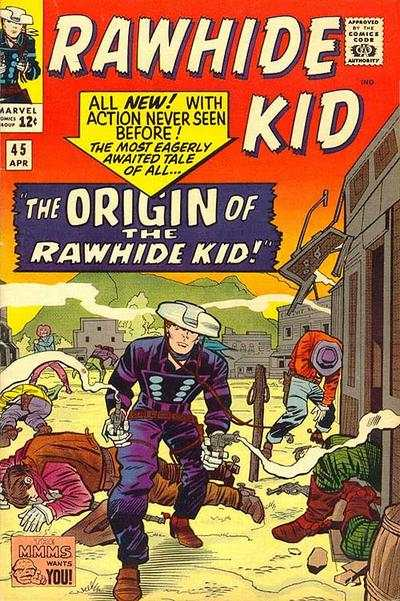 Rawhide Kid #45 comic books - cover scans photos Rawhide Kid #45 comic books - covers, picture gallery