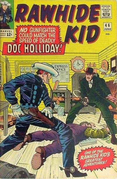 Rawhide Kid #46 comic books - cover scans photos Rawhide Kid #46 comic books - covers, picture gallery