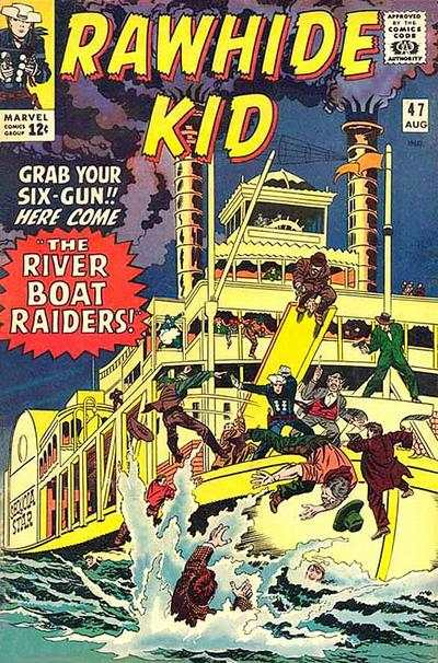 Rawhide Kid #47 comic books - cover scans photos Rawhide Kid #47 comic books - covers, picture gallery