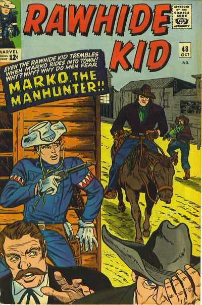 Rawhide Kid #48 comic books - cover scans photos Rawhide Kid #48 comic books - covers, picture gallery