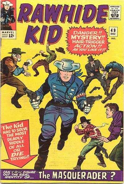 Rawhide Kid #49 Comic Books - Covers, Scans, Photos  in Rawhide Kid Comic Books - Covers, Scans, Gallery