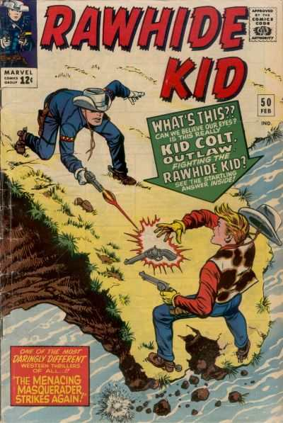 Rawhide Kid #50 Comic Books - Covers, Scans, Photos  in Rawhide Kid Comic Books - Covers, Scans, Gallery