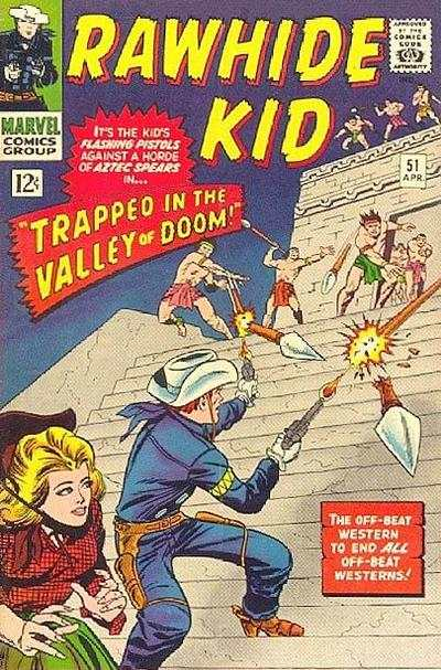 Rawhide Kid #51 Comic Books - Covers, Scans, Photos  in Rawhide Kid Comic Books - Covers, Scans, Gallery