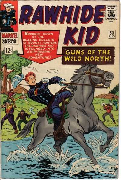 Rawhide Kid #53 comic books - cover scans photos Rawhide Kid #53 comic books - covers, picture gallery