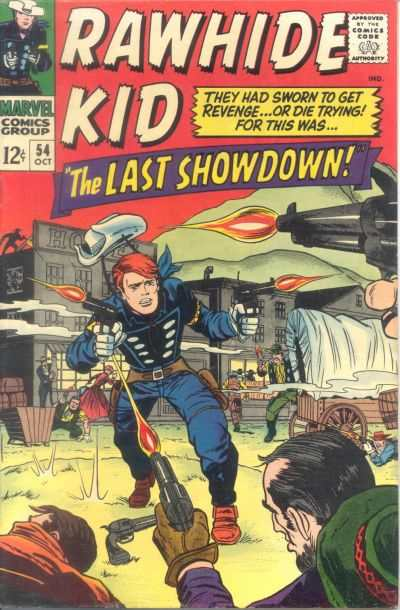Rawhide Kid #54 comic books - cover scans photos Rawhide Kid #54 comic books - covers, picture gallery