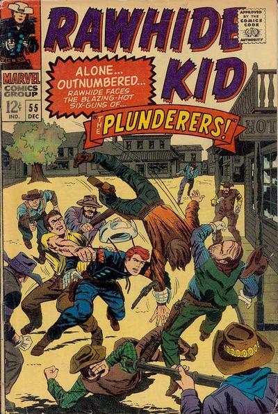 Rawhide Kid #55 comic books - cover scans photos Rawhide Kid #55 comic books - covers, picture gallery