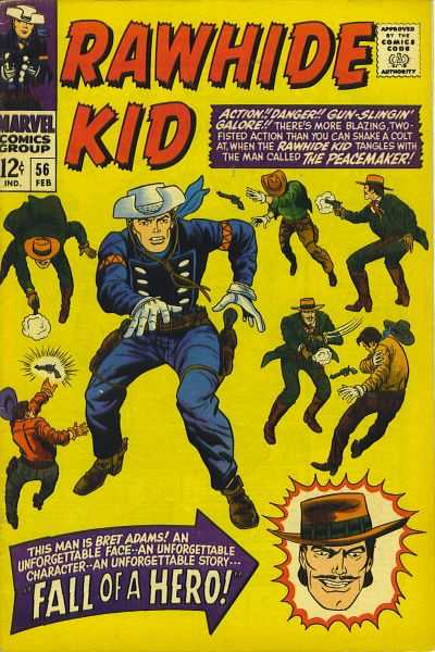 Rawhide Kid #56 comic books - cover scans photos Rawhide Kid #56 comic books - covers, picture gallery