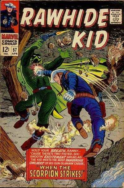 Rawhide Kid #57 comic books - cover scans photos Rawhide Kid #57 comic books - covers, picture gallery