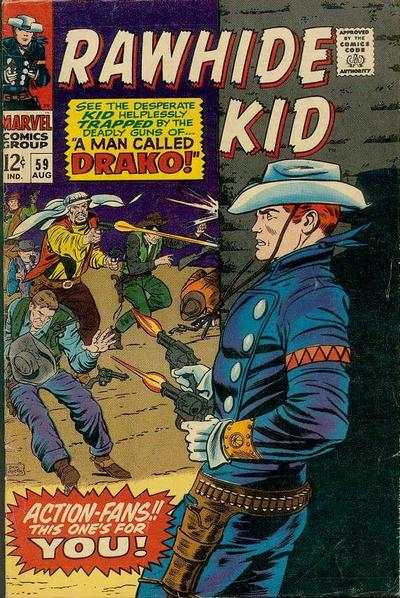 Rawhide Kid #59 comic books - cover scans photos Rawhide Kid #59 comic books - covers, picture gallery