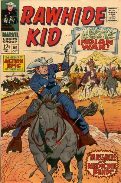 Rawhide Kid #60 comic books - cover scans photos Rawhide Kid #60 comic books - covers, picture gallery