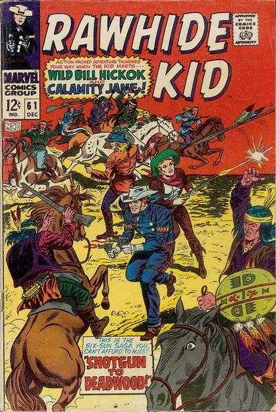 Rawhide Kid #61 comic books - cover scans photos Rawhide Kid #61 comic books - covers, picture gallery
