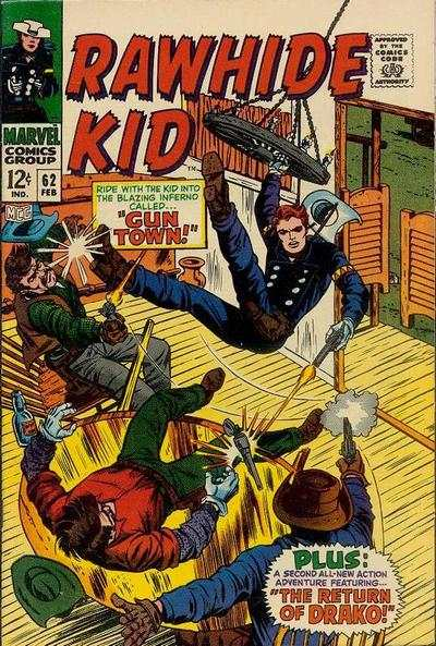 Rawhide Kid #62 Comic Books - Covers, Scans, Photos  in Rawhide Kid Comic Books - Covers, Scans, Gallery