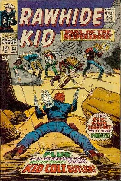 Rawhide Kid #64 comic books - cover scans photos Rawhide Kid #64 comic books - covers, picture gallery