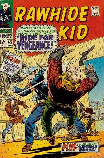 Rawhide Kid #65 Comic Books - Covers, Scans, Photos  in Rawhide Kid Comic Books - Covers, Scans, Gallery
