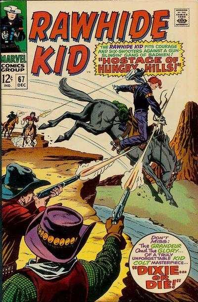 Rawhide Kid #67 comic books - cover scans photos Rawhide Kid #67 comic books - covers, picture gallery