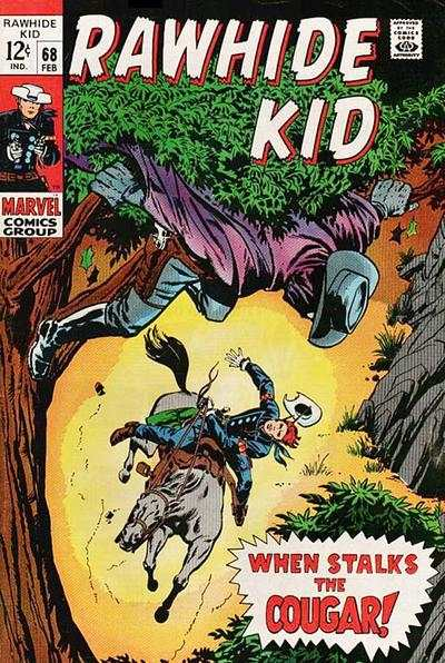 Rawhide Kid #68 Comic Books - Covers, Scans, Photos  in Rawhide Kid Comic Books - Covers, Scans, Gallery