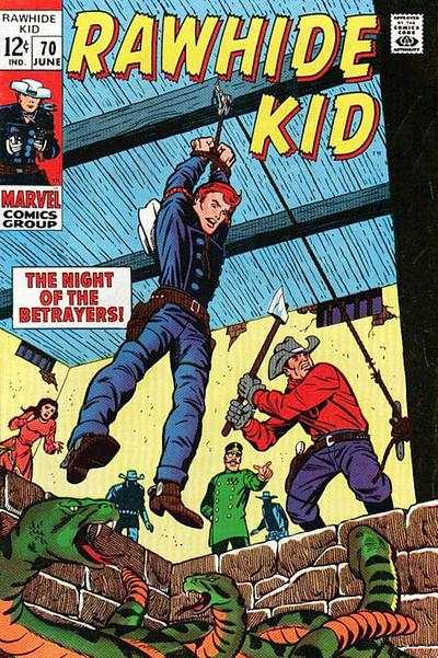 Rawhide Kid #70 Comic Books - Covers, Scans, Photos  in Rawhide Kid Comic Books - Covers, Scans, Gallery