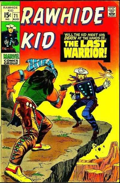 Rawhide Kid #71 Comic Books - Covers, Scans, Photos  in Rawhide Kid Comic Books - Covers, Scans, Gallery