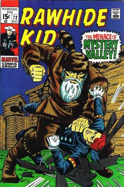 Rawhide Kid #72 Comic Books - Covers, Scans, Photos  in Rawhide Kid Comic Books - Covers, Scans, Gallery