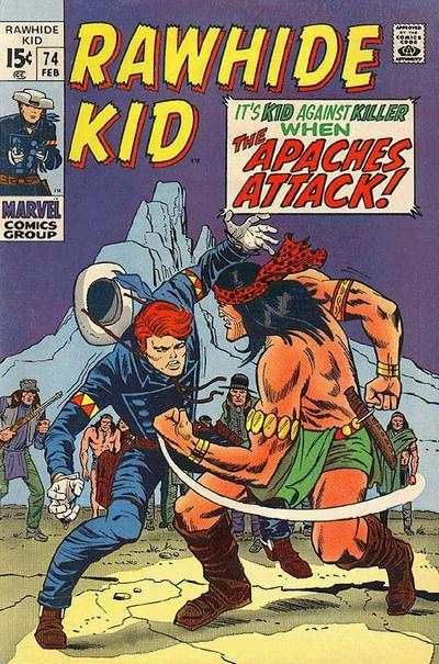 Rawhide Kid #74 Comic Books - Covers, Scans, Photos  in Rawhide Kid Comic Books - Covers, Scans, Gallery