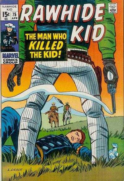 Rawhide Kid #75 comic books - cover scans photos Rawhide Kid #75 comic books - covers, picture gallery