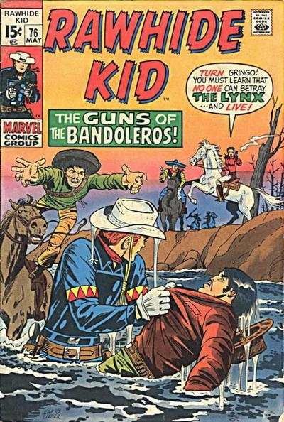Rawhide Kid #76 comic books - cover scans photos Rawhide Kid #76 comic books - covers, picture gallery