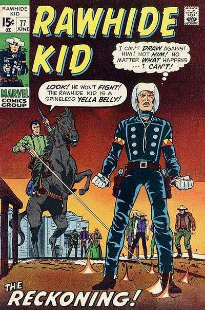 Rawhide Kid #77 comic books - cover scans photos Rawhide Kid #77 comic books - covers, picture gallery