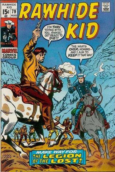 Rawhide Kid #79 comic books - cover scans photos Rawhide Kid #79 comic books - covers, picture gallery