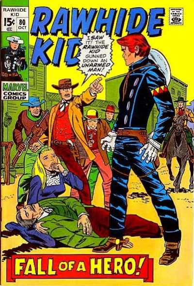 Rawhide Kid #80 comic books - cover scans photos Rawhide Kid #80 comic books - covers, picture gallery