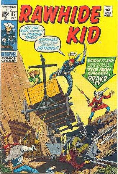 Rawhide Kid #82 comic books - cover scans photos Rawhide Kid #82 comic books - covers, picture gallery