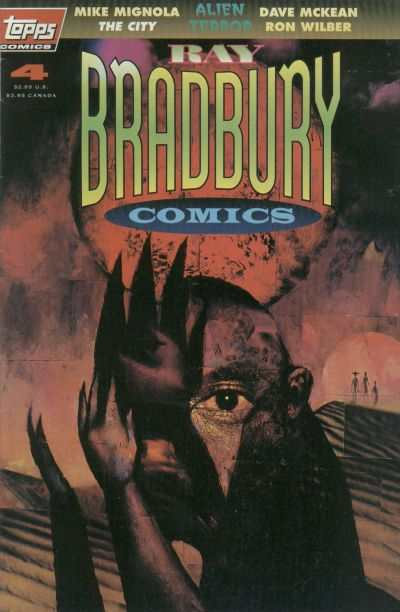 Ray Bradbury Comics #4 comic books - cover scans photos Ray Bradbury Comics #4 comic books - covers, picture gallery