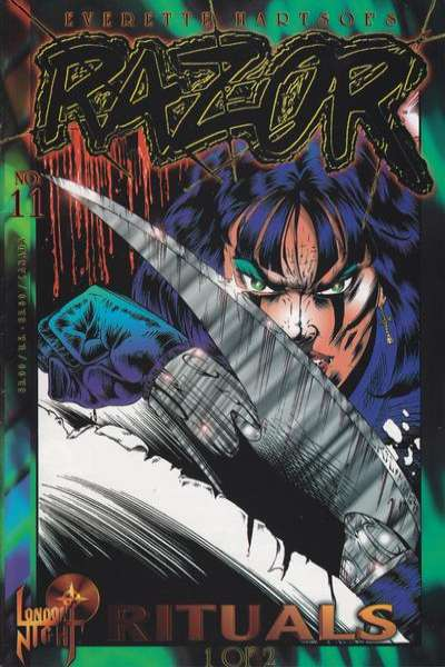 Razor #11 comic books - cover scans photos Razor #11 comic books - covers, picture gallery