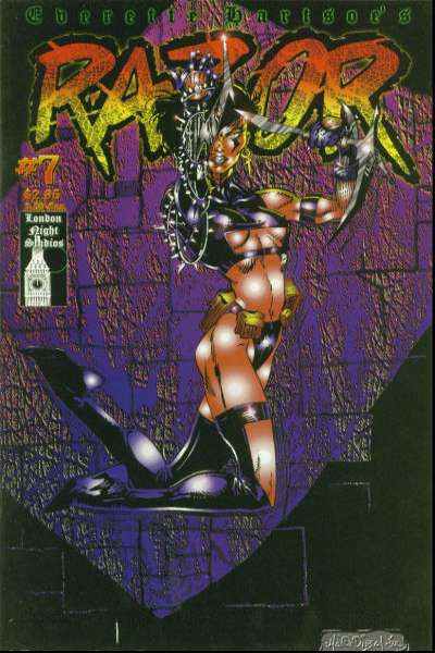 Razor #7 comic books for sale