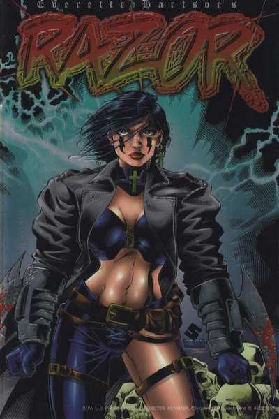 Razor #1 Comic Books - Covers, Scans, Photos  in Razor Comic Books - Covers, Scans, Gallery