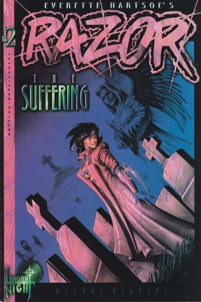 Razor: The Suffering #2 comic books for sale