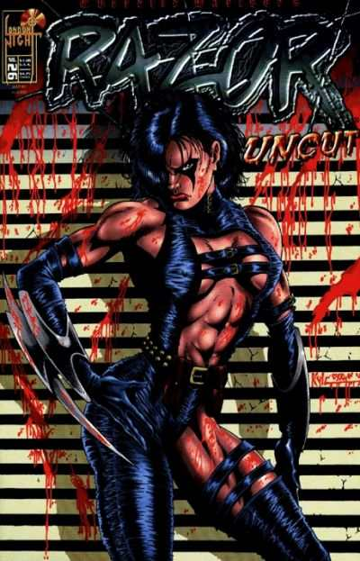 Razor: Uncut #26 Comic Books - Covers, Scans, Photos  in Razor: Uncut Comic Books - Covers, Scans, Gallery