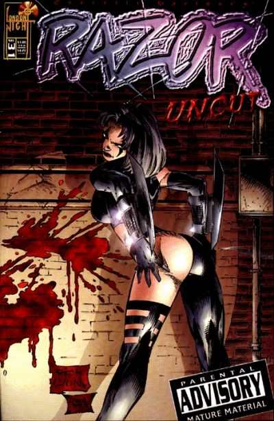 Razor: Uncut #31 Comic Books - Covers, Scans, Photos  in Razor: Uncut Comic Books - Covers, Scans, Gallery
