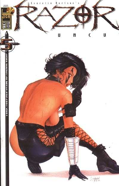 Razor: Uncut #36 comic books - cover scans photos Razor: Uncut #36 comic books - covers, picture gallery