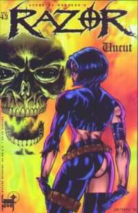 Razor: Uncut #43 comic books for sale