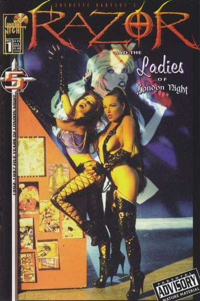 Razor and the Ladies of London Night #1 comic books for sale