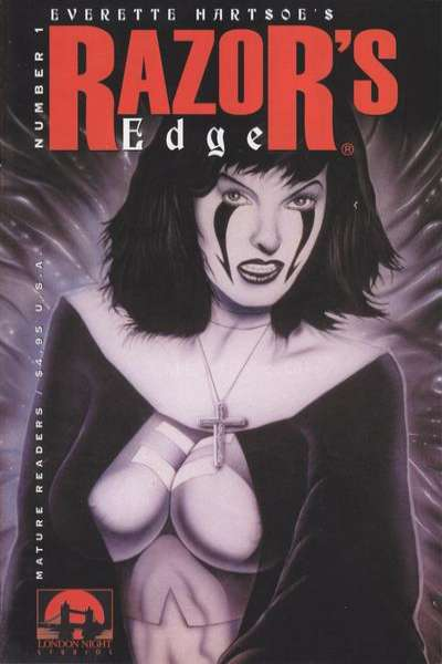 Razor's Edge #1 comic books - cover scans photos Razor's Edge #1 comic books - covers, picture gallery